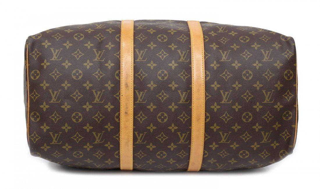 LOUIS VUITTON MONOGRAM 'KEEPALL 50' DUFFLE BAG - 3