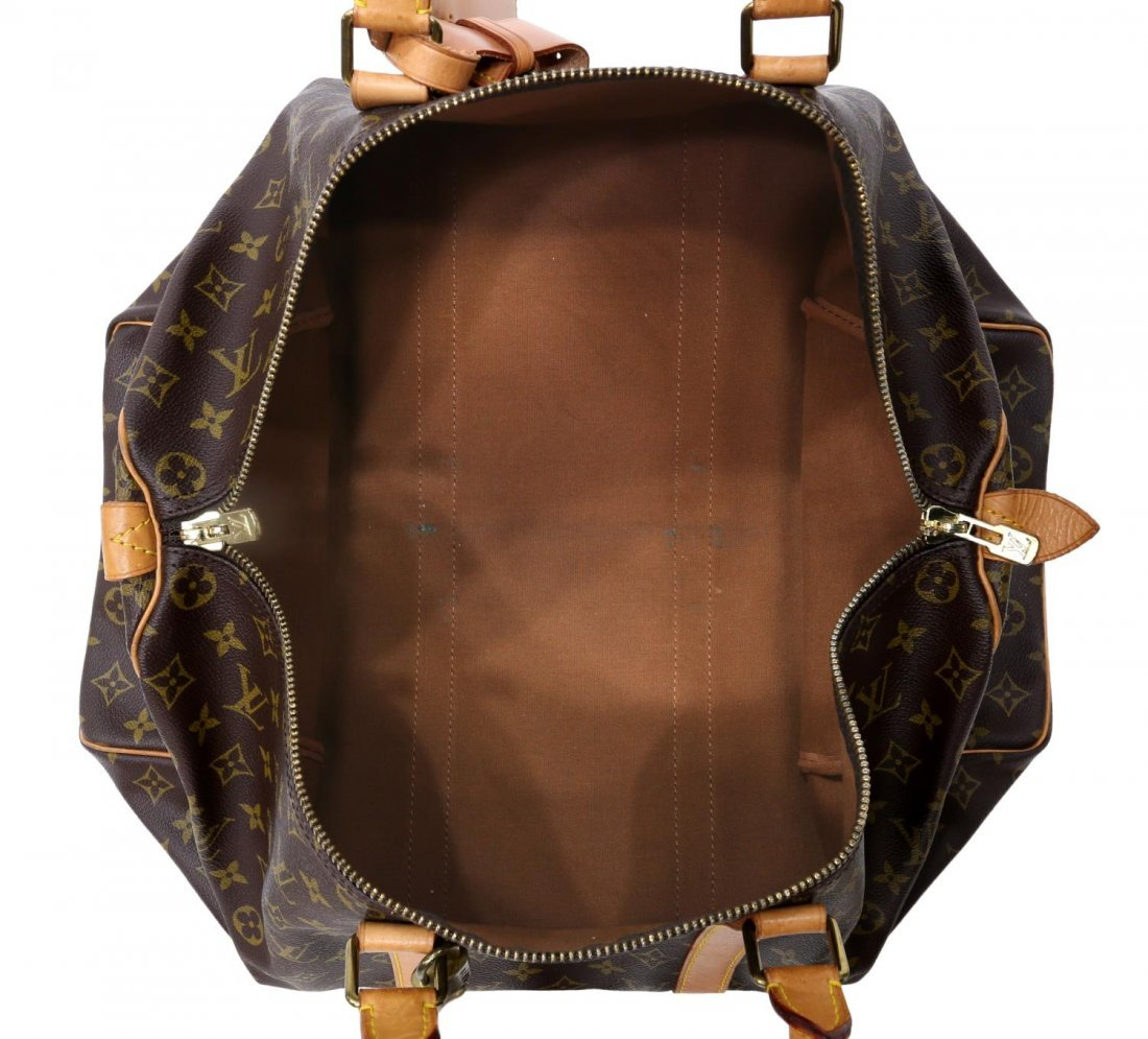 LOUIS VUITTON MONOGRAM 'KEEPALL 50' DUFFLE BAG - 4