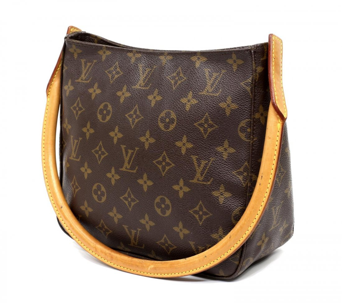 LOUIS VUITTON 'LOOPING MM' MONOGRAM SHOULDER BAG