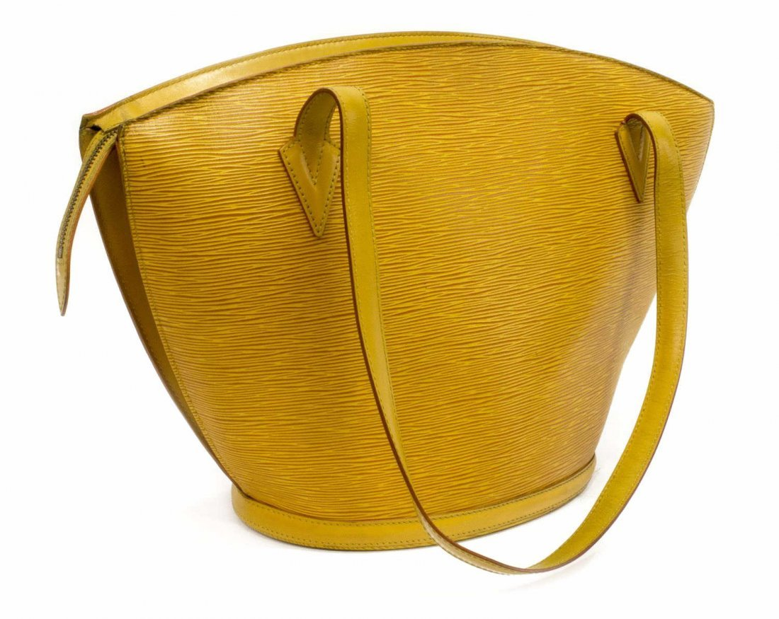 LOUIS VUITTON 'ST JACQUES' EPI LEATHER SHOULDERBAG