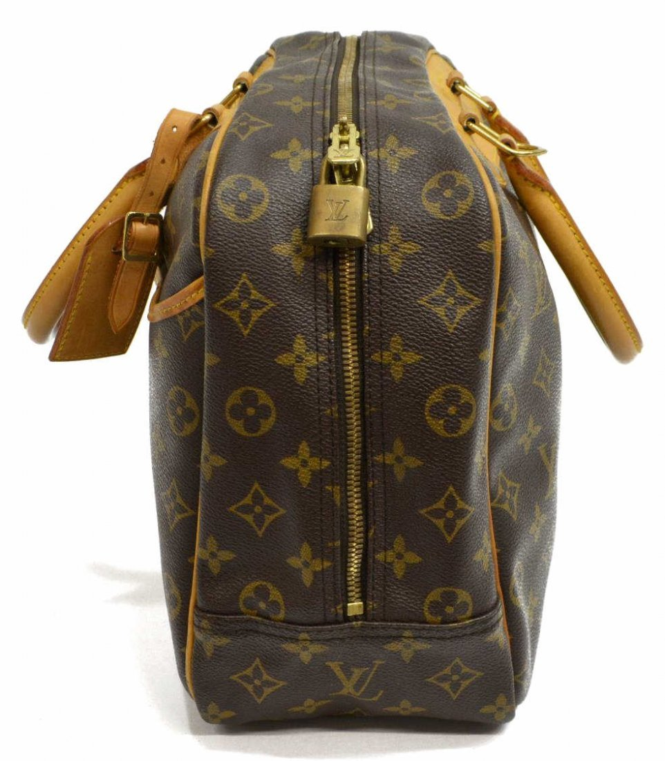 LOUIS VUITTON 'DEAUVILLE' MONOGRAM CANVAS HAND BAG - 2