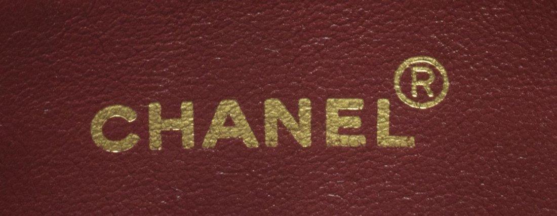 CHANEL BLACK QUILTED LEATHER SHOULDER BAG - 4