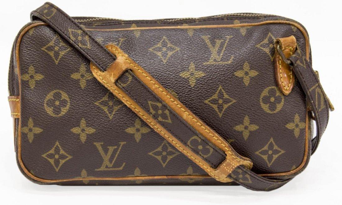 LOUIS VUITTON 'MARLY BANDOULIERE' SHOULDER BAG - 2