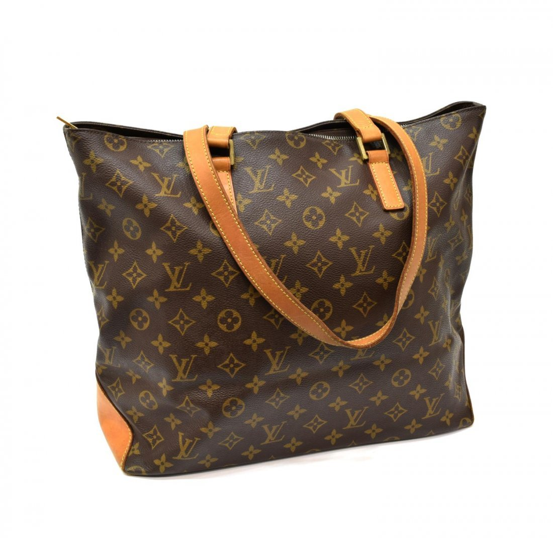 LOUIS VUITTON 'CABAS MEZZO' MONOGRAM CANVAS TOTE