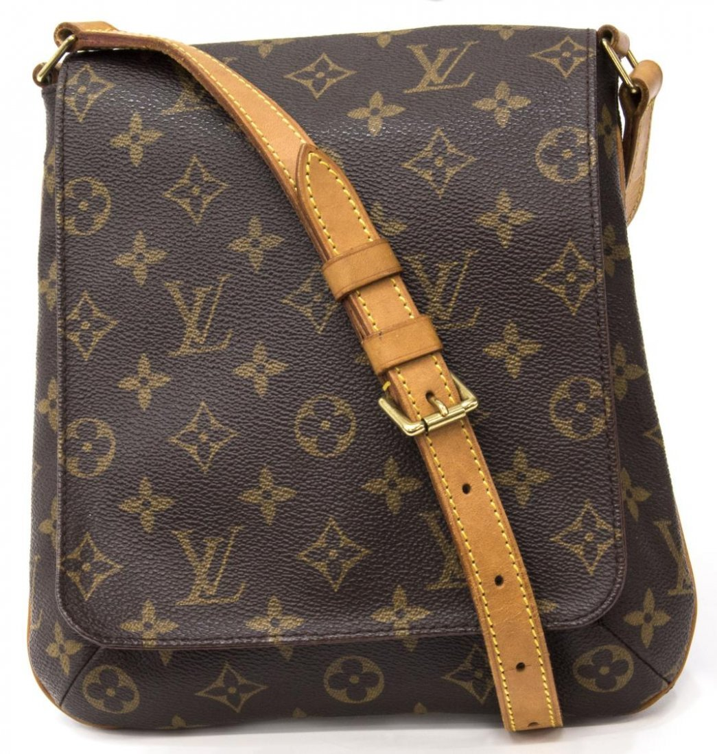 LOUIS VUITTON 'MUSETTE SALSA' MONOGRAM CANVAS BAG