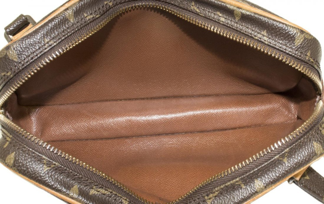 LOUIS VUITTON 'MARLY BANDOULIERE' MONOGRAM BAG - 5