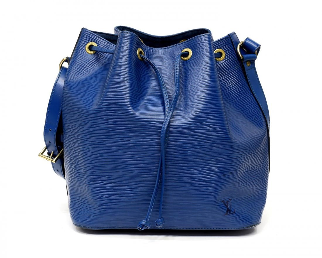 LOUIS VUITTON 'NOE PM' EPI LEATHER BUCKET BAG - 2