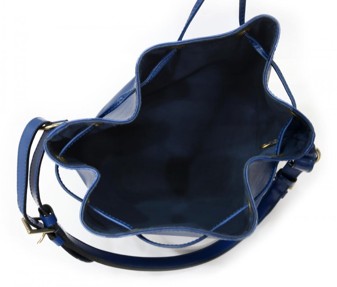 LOUIS VUITTON 'NOE PM' EPI LEATHER BUCKET BAG - 4