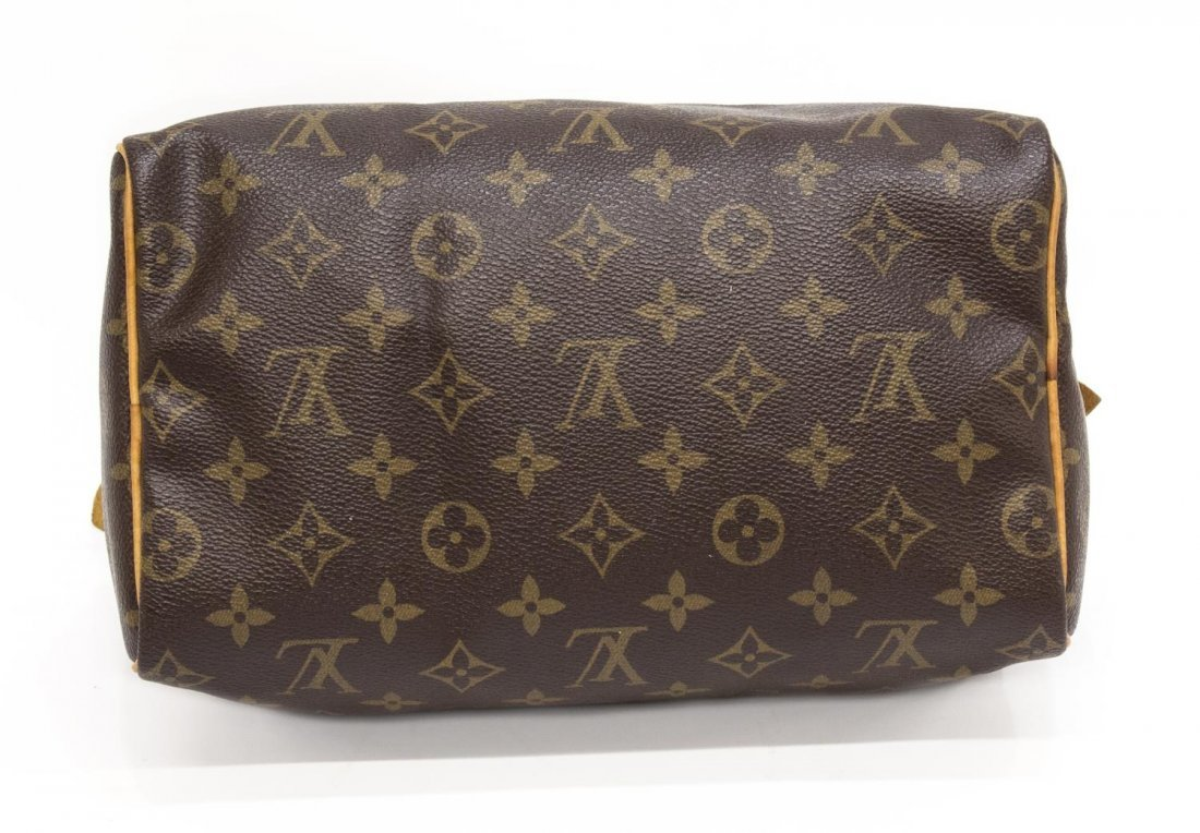 LOUIS VUITTON 'SPEEDY 25' MONOGRAM CANVAS HANDBAG - 3