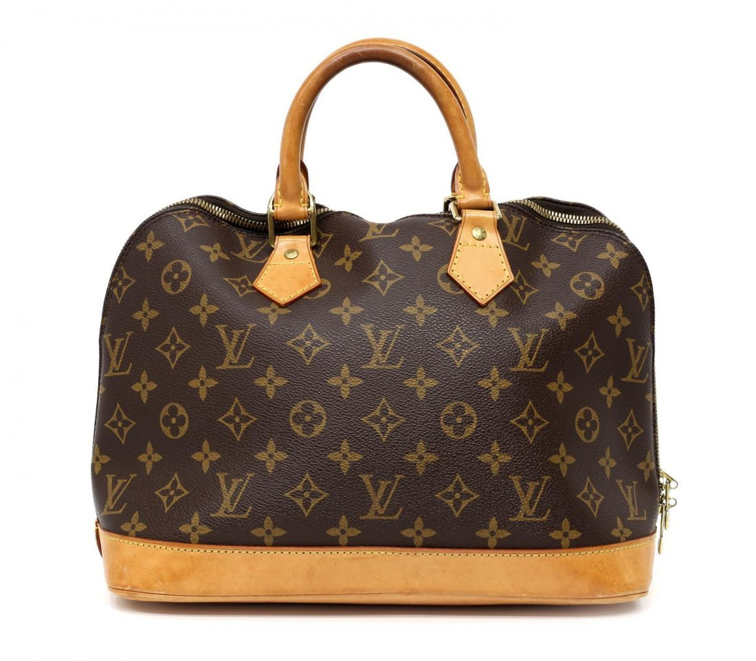 LOUIS VUITTON 'ALMA' MONOGRAM CANVAS HANDBAG - 2