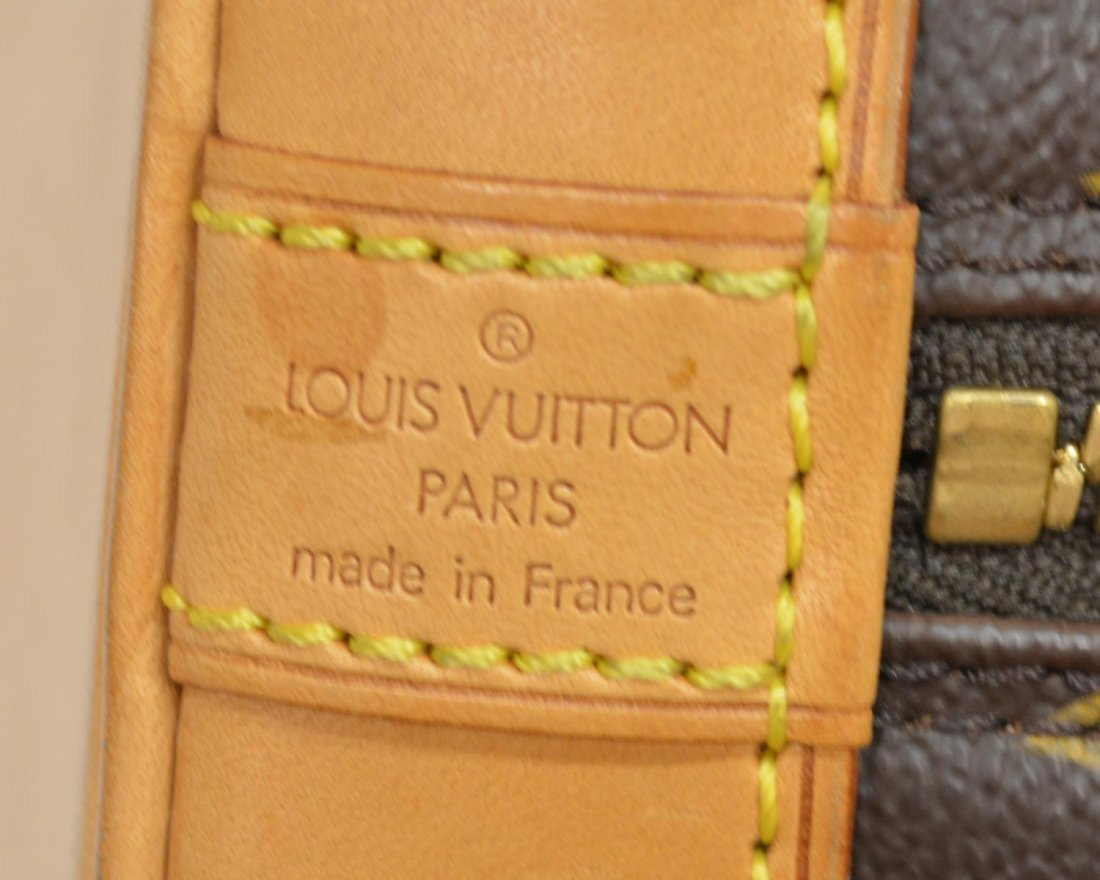 LOUIS VUITTON 'ALMA' MONOGRAM CANVAS HANDBAG - 5