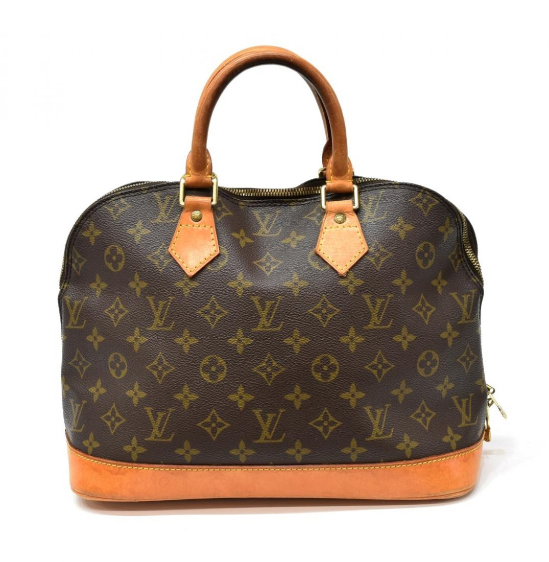 LOUIS VUITTON 'ALMA MM' MONOGRAM CANVAS HANDBAG - 2