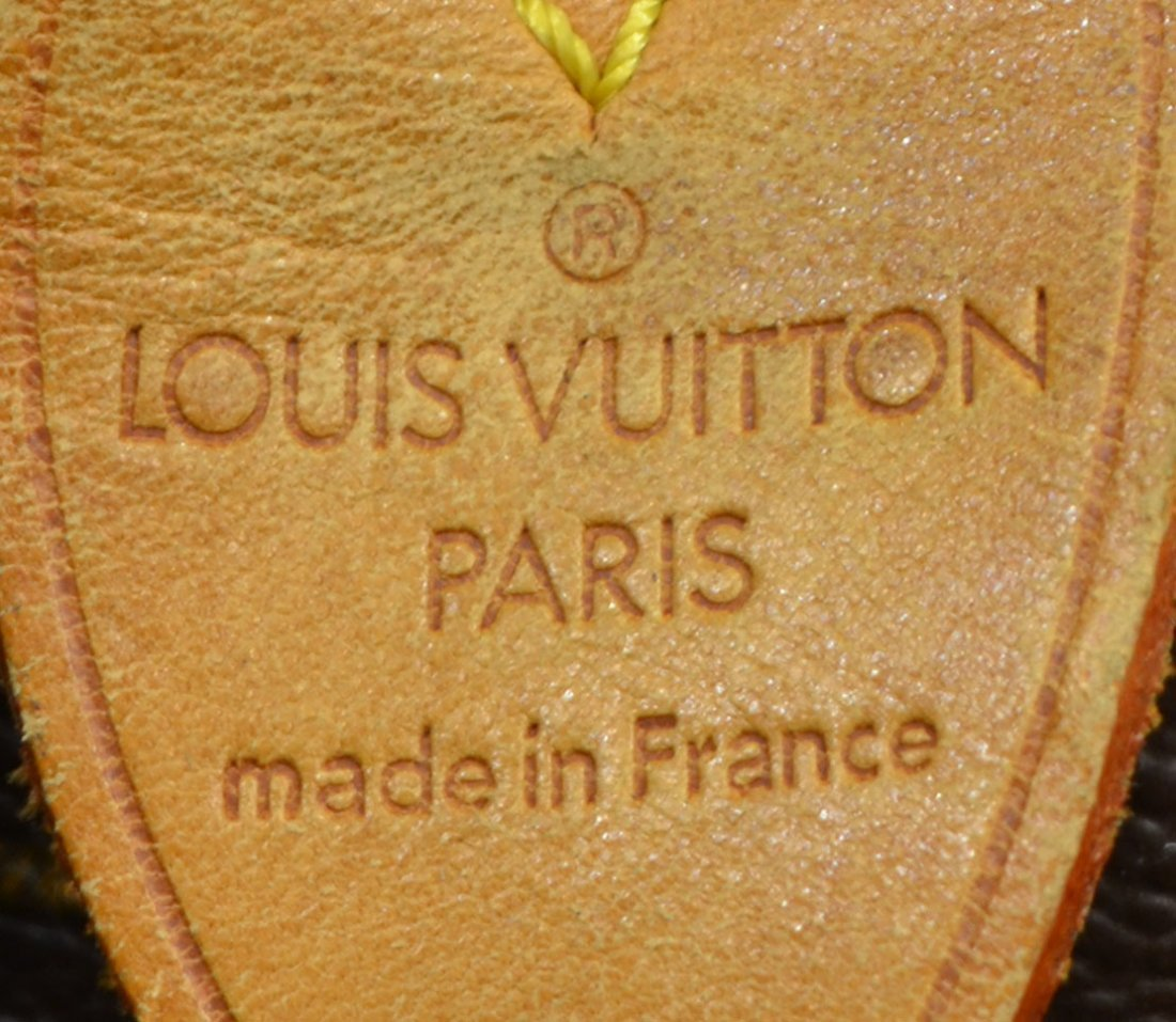 LOUIS VUITTON 'KEEPALL 55' MONOGRAM DUFFLE BAG - 5