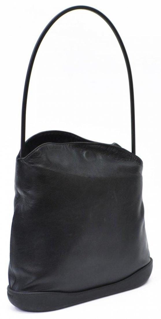 BALLY BLACK LEATHER TOTE SHOULDER BAG