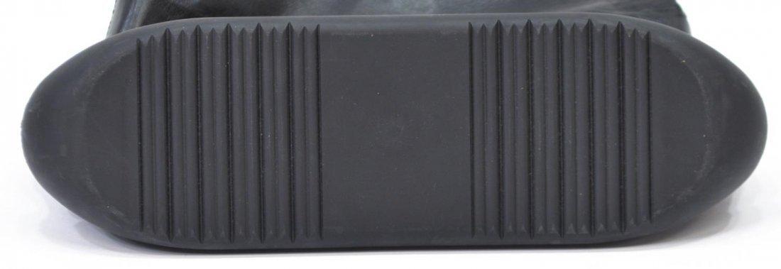 BALLY BLACK LEATHER TOTE SHOULDER BAG - 3