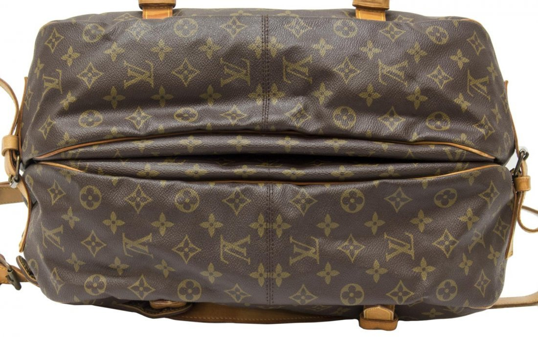 LOUIS VUITTON 'SAUMUR 35' MONOGRAM MESSENGER BAG - 3