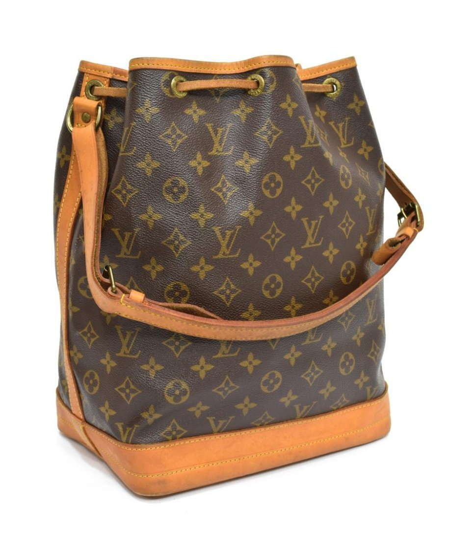 LOUIS VUITTON 'NOE GM' MONOGRAM CANVAS BUCKET BAG