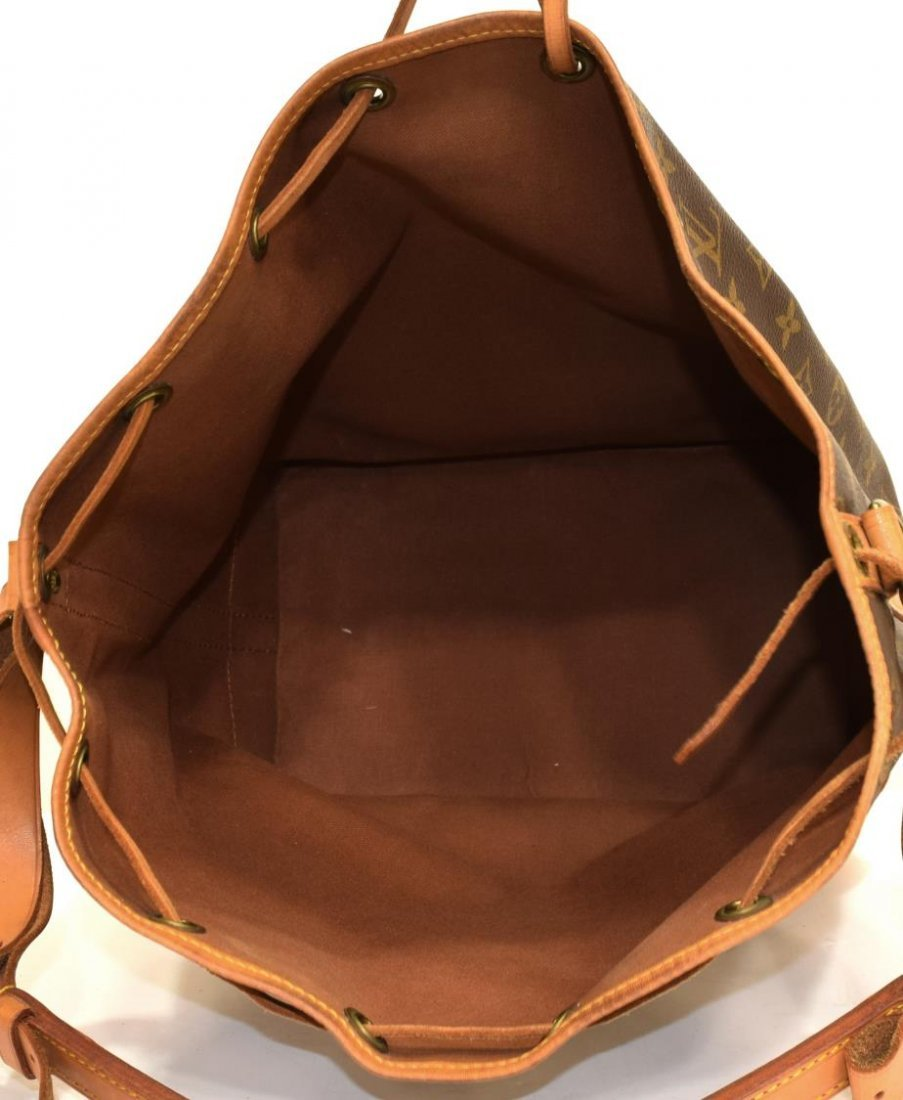 LOUIS VUITTON 'NOE GM' MONOGRAM CANVAS BUCKET BAG - 4