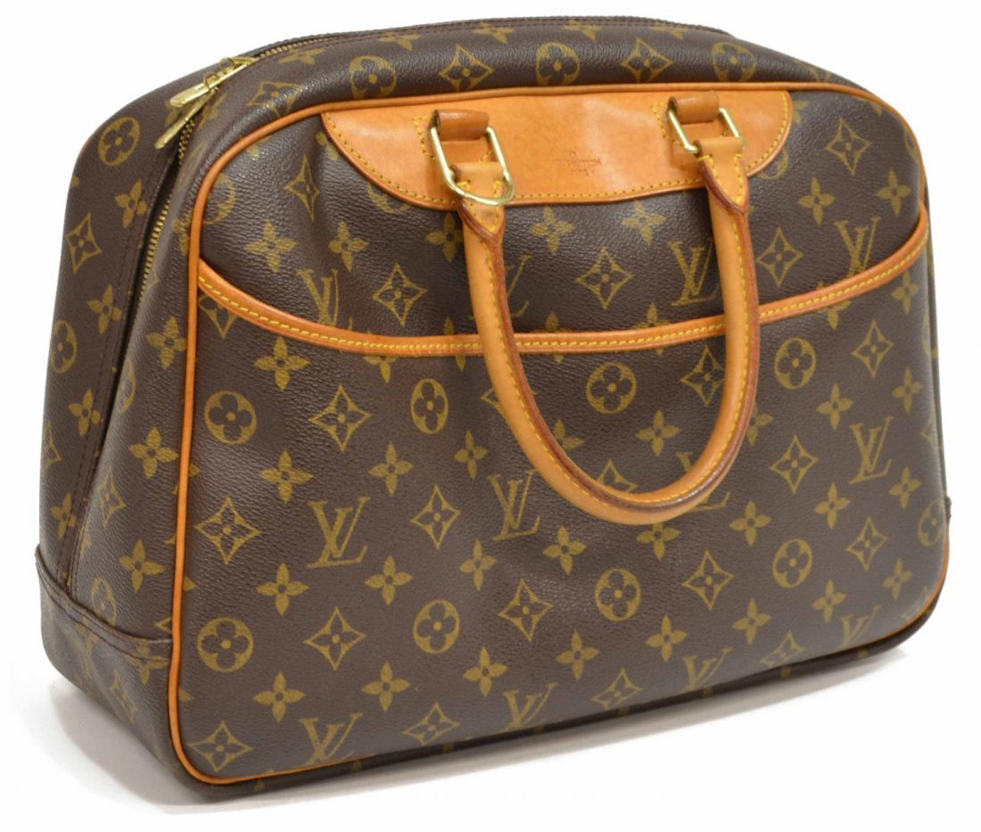 LOUIS VUITTON 'DEAUVILLE' MONOGRAM CANVAS HANDBAG