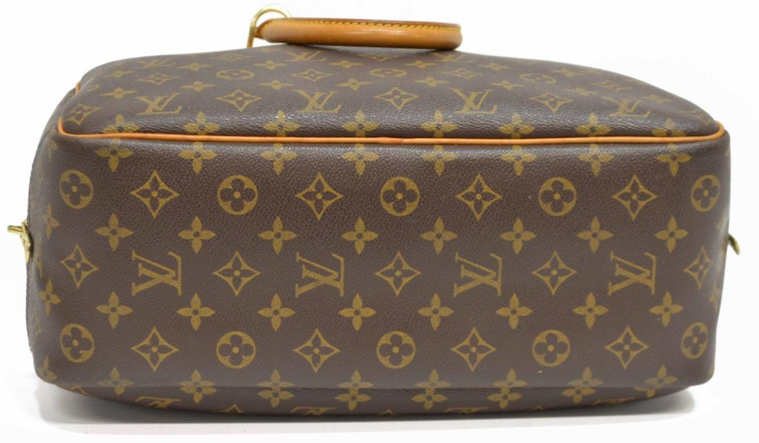 LOUIS VUITTON 'DEAUVILLE' MONOGRAM CANVAS HANDBAG - 3