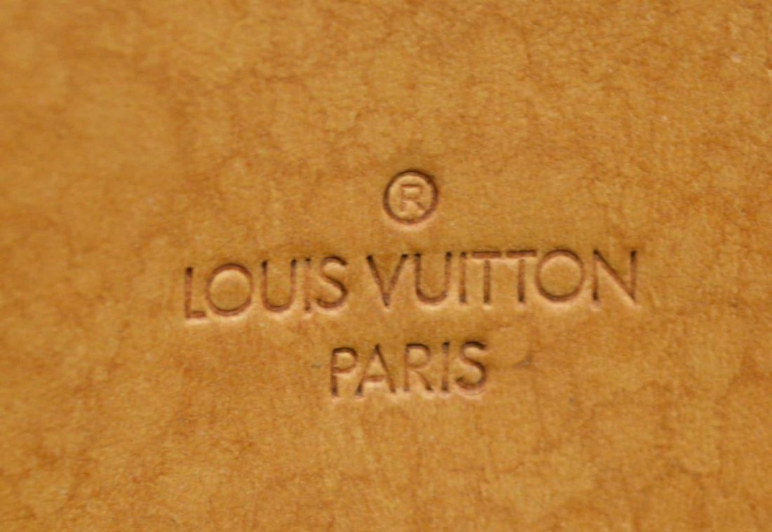 LOUIS VUITTON 'DEAUVILLE' MONOGRAM CANVAS HANDBAG - 6