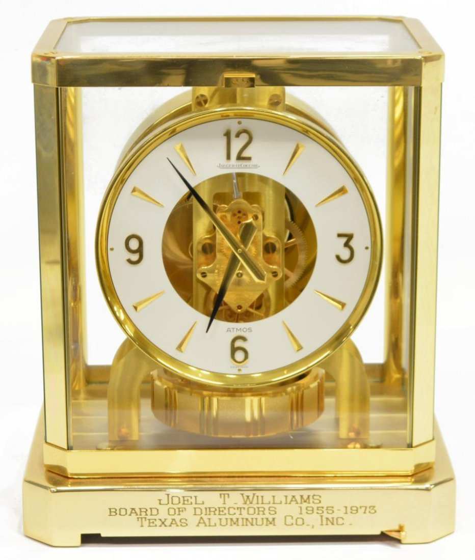 LE COULTRE ATMOS MODEL 528 CLOCK, OPERATING