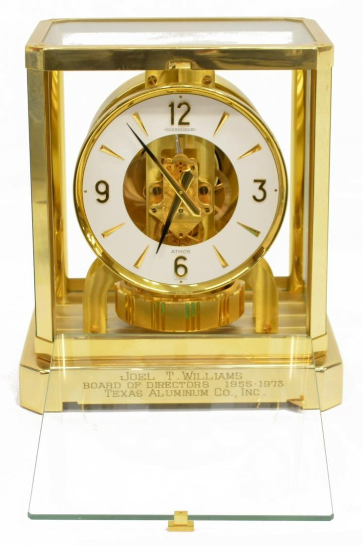 LE COULTRE ATMOS MODEL 528 CLOCK, OPERATING - 2