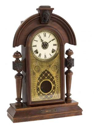 ANTIQUE SETH THOMAS NEOCLASSICAL MANTLE CLOCK