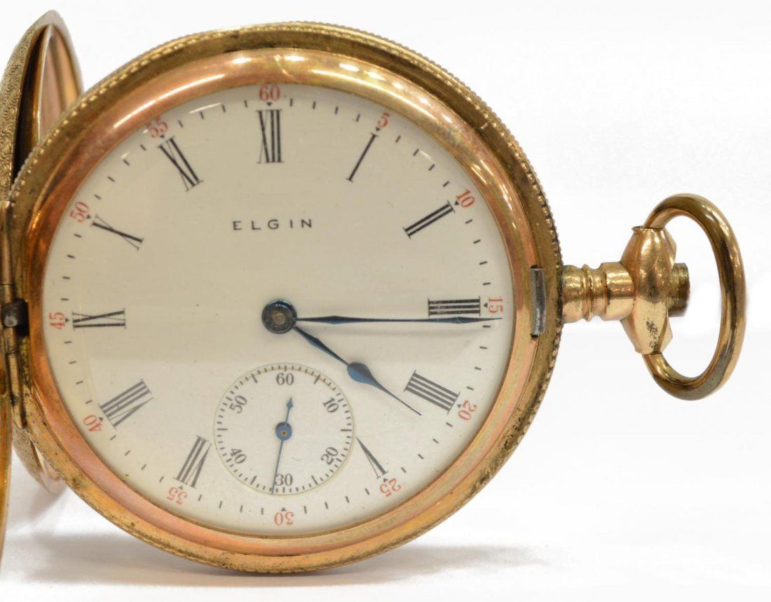 (2) ESTATE POCKET WATCHES ILLINOIS BUNN SPECIAL DR - 2