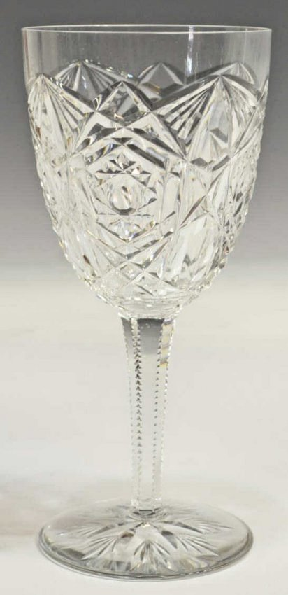 (12) BACCARAT CUT CRYSTAL 'LAGNEY' WATER GOBLETS - 3