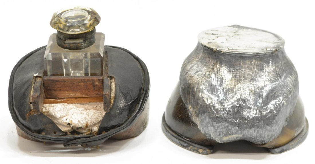 (2) ROWLAND WARD LTD. HORSE HOOF INKWELL, & OTHER - 3