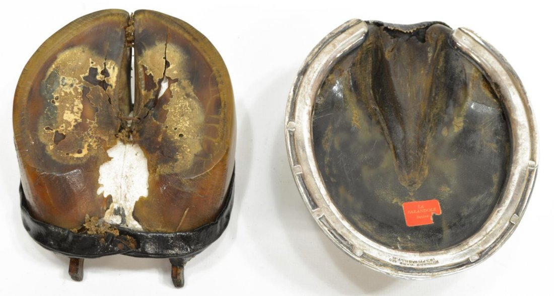 (2) ROWLAND WARD LTD. HORSE HOOF INKWELL, & OTHER - 4