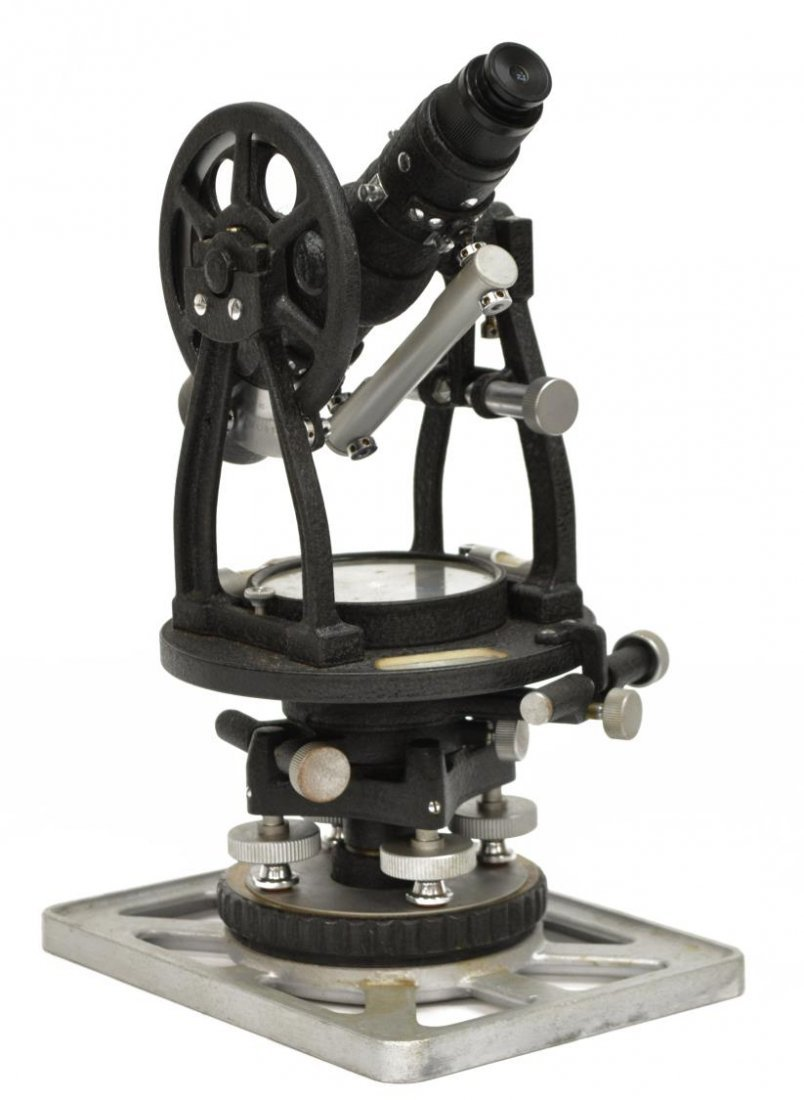 LIETZ MODEL 115 SURVEY TRANSIT & GURLEY COMPASS - 2