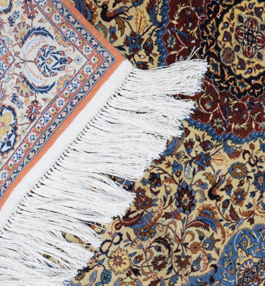 CHINESE SILK RUG, LIKE NEW CONDITION, APRX 2' x 3' - 2