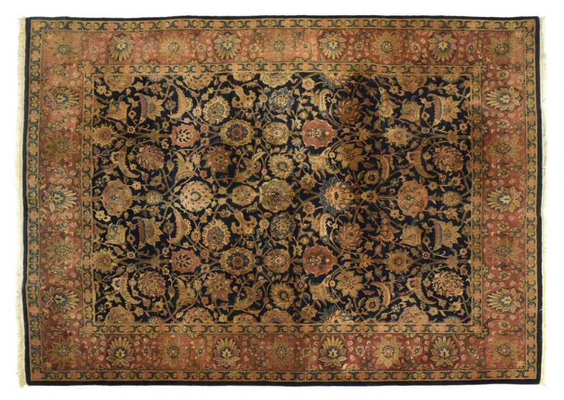 "HAND TIED PERSIAN STYLE RUG, 10'3"" x 8'1"""