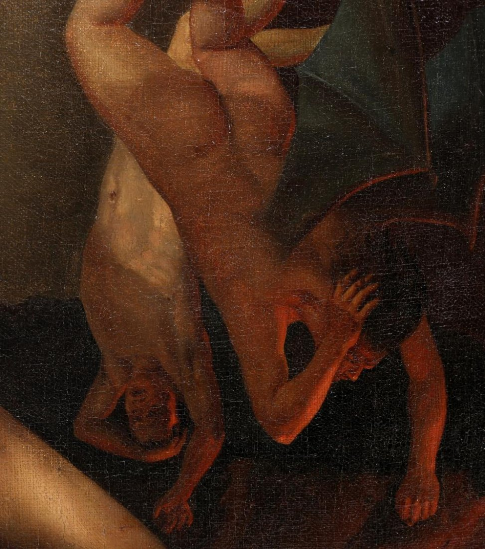 PURGATORY, NEO-CLASSICAL OIL PAINTING - 4