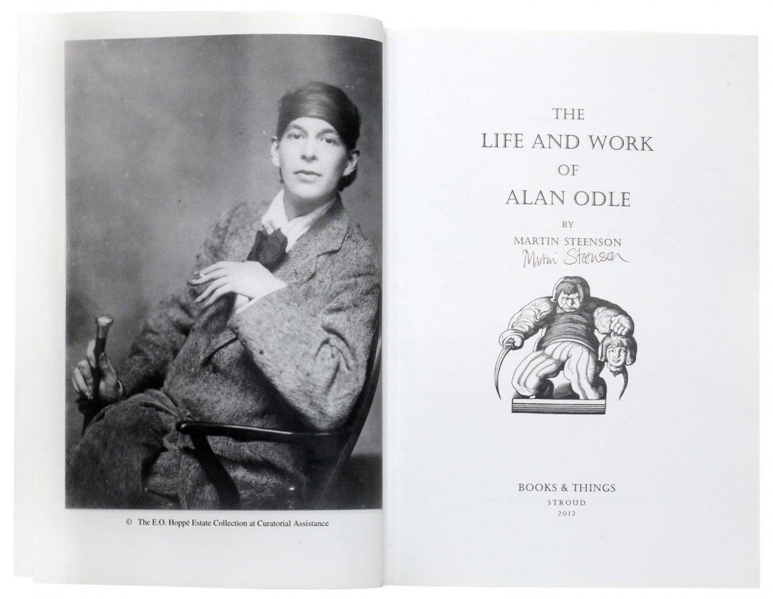 ALAN ODLE (1888-1948) ATTRIB., WATERCOLOR - 10