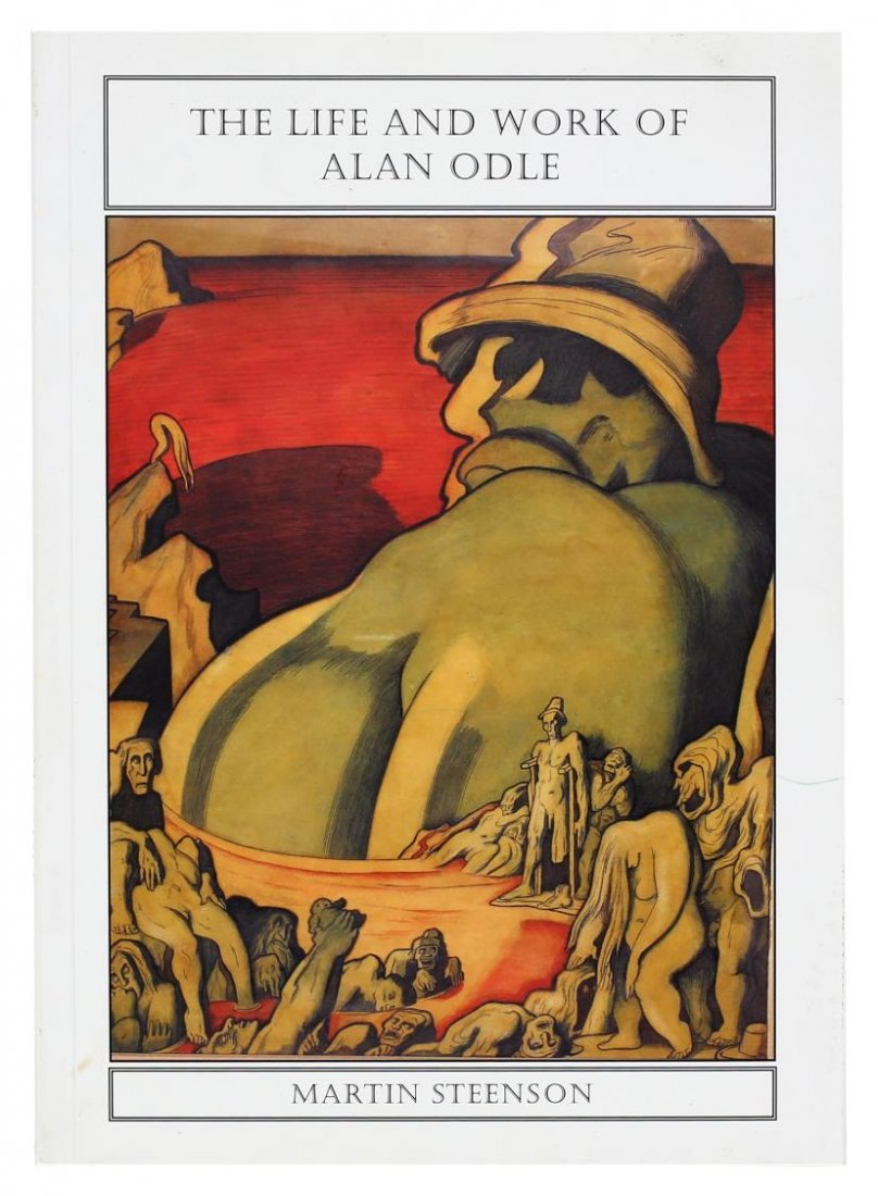 ALAN ODLE (1888-1948) ATTRIB., WATERCOLOR - 8