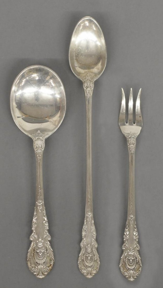 (40) SIR CHRISTOPHER STERLING FLATWARE BY WALLACE - 4