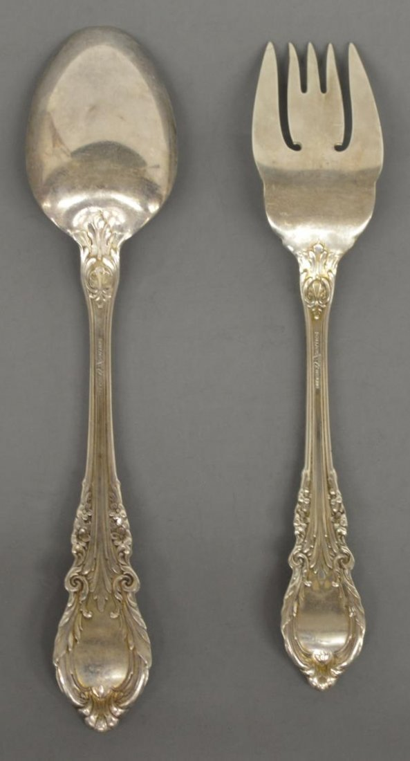 (40) SIR CHRISTOPHER STERLING FLATWARE BY WALLACE - 7
