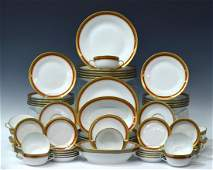 76 ITALIAN RICHARD GINORI PORCELAIN DINNER SET