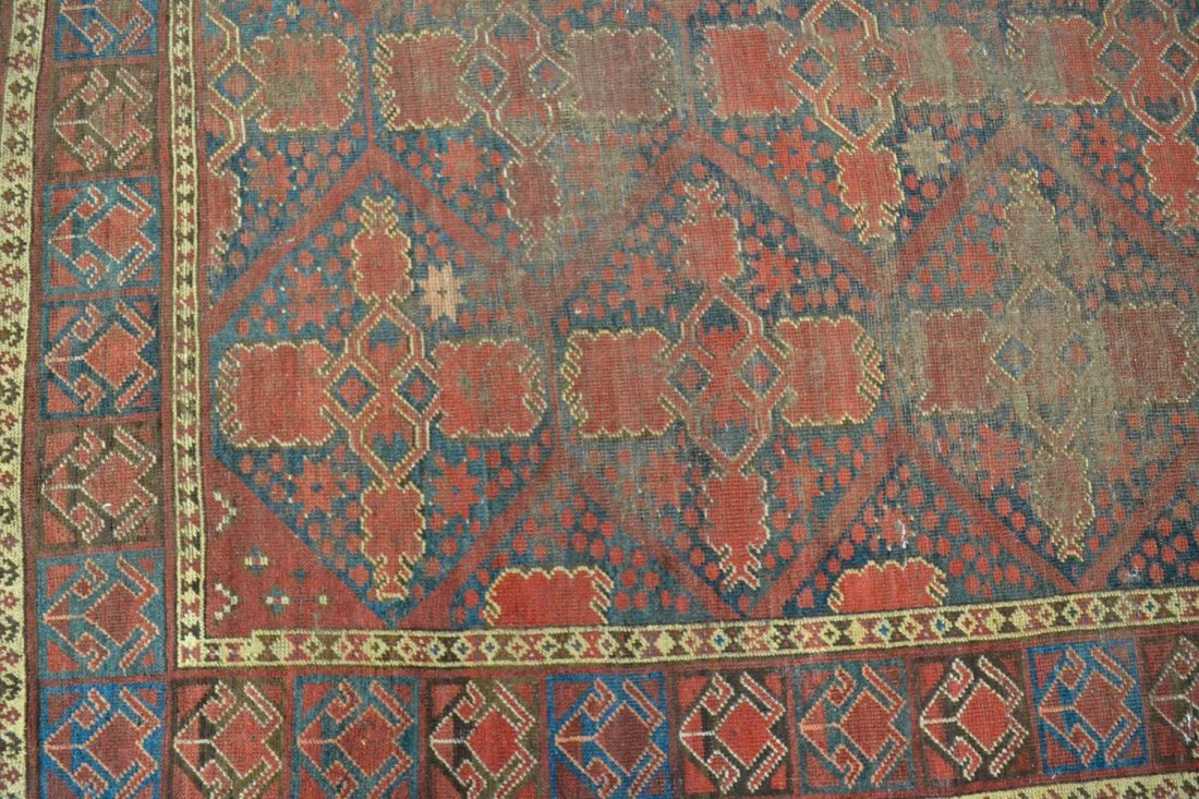 ANTIQUE PERSIAN BASHIR RUG, C. 1875 - 2