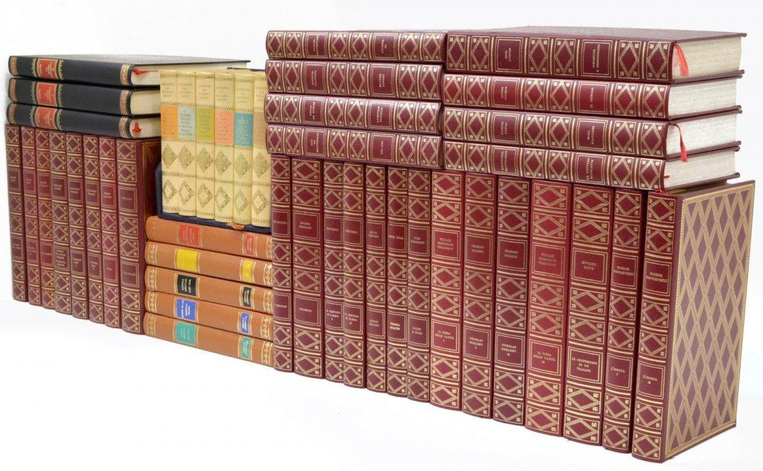(44) COLLECTION VINTAGE ITALIAN HARD BOUND BOOKS