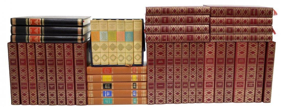 (44) COLLECTION VINTAGE ITALIAN HARD BOUND BOOKS - 2
