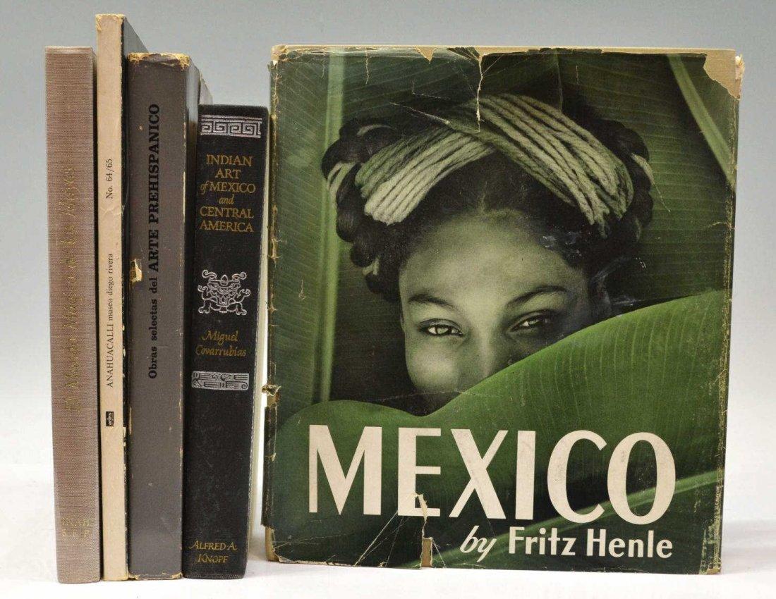 (5) ART BOOKS, EL MUNDO MAGICO DE LOS MAYAS, 1964