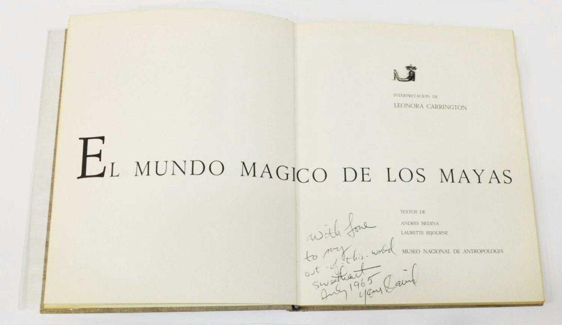 (5) ART BOOKS, EL MUNDO MAGICO DE LOS MAYAS, 1964 - 6
