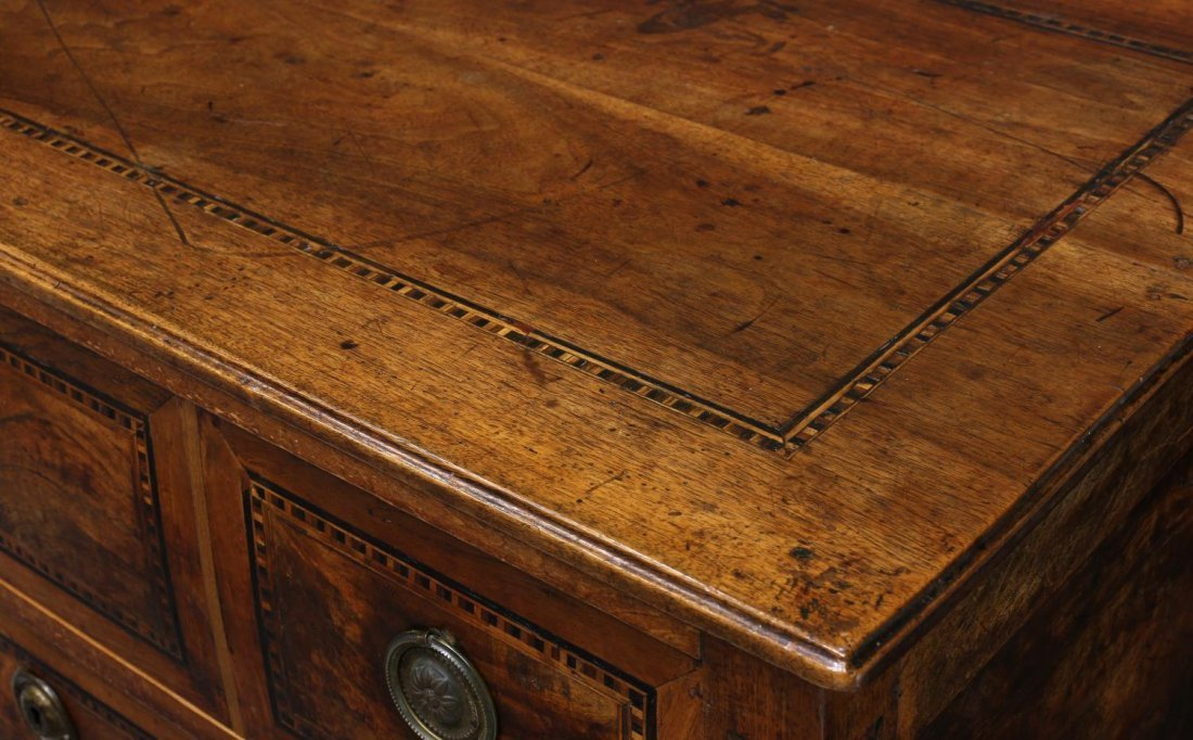 FRENCH LOUIS XVI PARQUETRY INLAID COMMODE 18TH C. - 2
