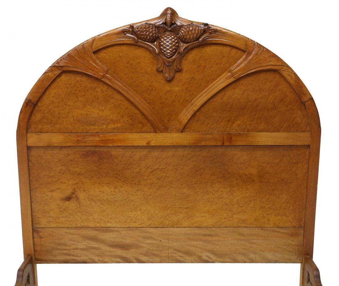 COLLECTIBLE NOUVEAU BED, NANCY FRANCE, C. 1900 - 3