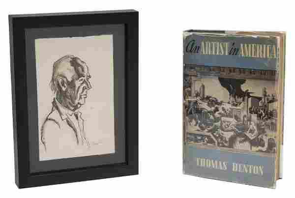 THOMAS HART BENTON (1889-1975) ORIGINAL ILLUSTRATION