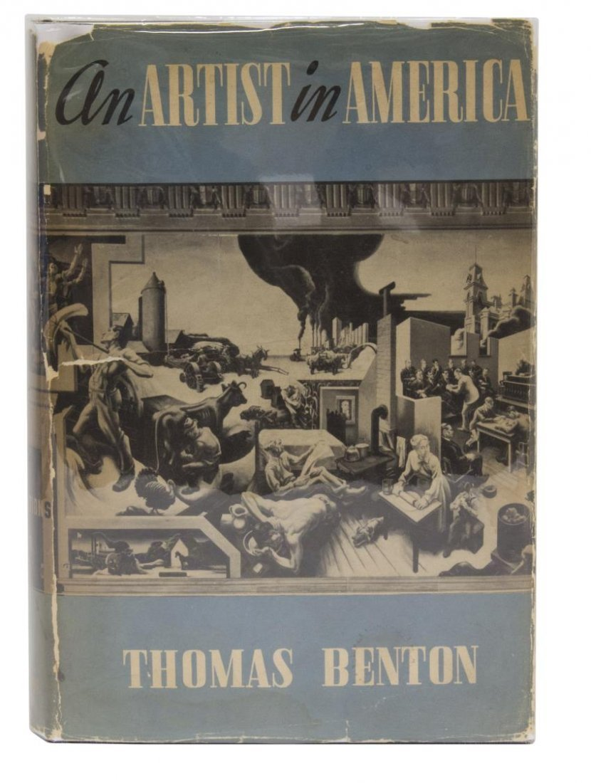 THOMAS HART BENTON (1889-1975) ORIGINAL ILLUSTRATION - 4